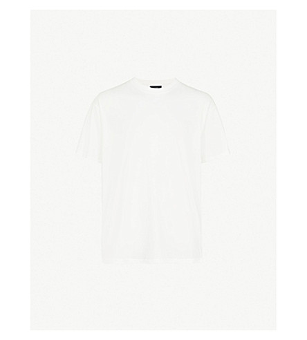 REPRESENT Printed cotton-jersey T-shirt (White