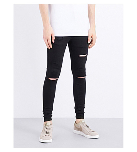 HERA Ultra Rip spray-on skinny jeans (Black