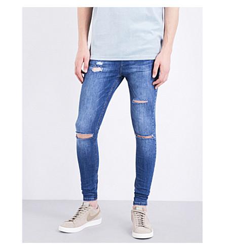 HERA Ultra Rip spray-on skinny jeans (Dark blue