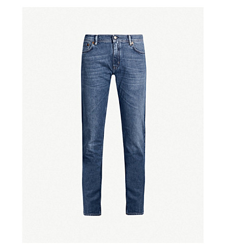 ACNE STUDIOS North slim-fit skinny jeans (Mid blue
