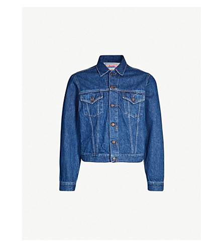 ACNE STUDIOS 1998 denim jacket (Dark blue trash