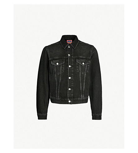 ACNE STUDIOS 1998 denim jacket (Use black metal