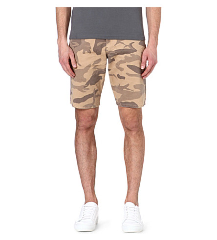 DOCKERS Cotton camo shorts (Camo