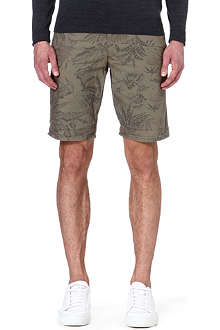 DOCKERS Leaf print shorts
