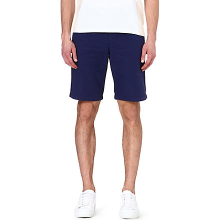 DOCKERS Poplin dot short (Indigo