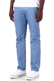DOCKERS Alpha khaki slim trousers