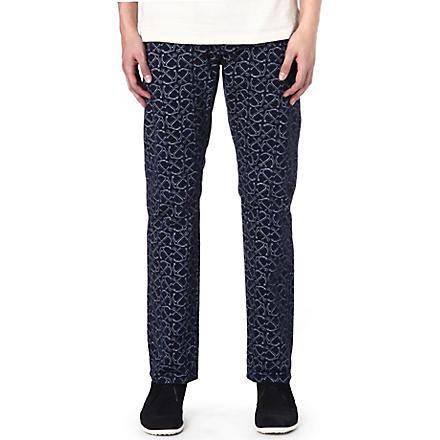 DOCKERS Alpha stretch-cotton chinos (Navy