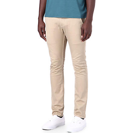 DOCKERS Alpha khaki skinny trousers (Chino