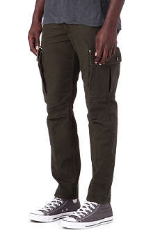 DOCKERS Rosin Alpha khaki cargo trousers