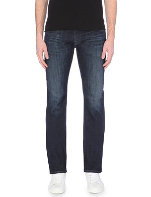 AG JEANS Matchbox slim-fit straight-leg jeans