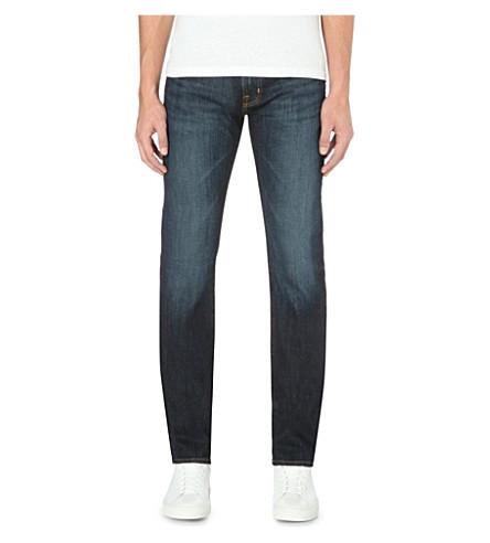 AG JEANS Matchbox slim-fit straight-leg jeans (Rob