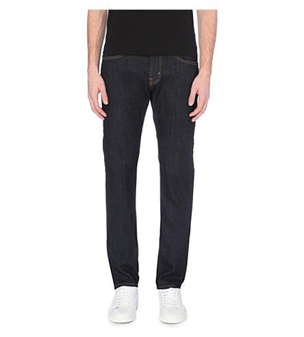 AG JEANS Dylan slim-fit skinny jeans (Dk+blue