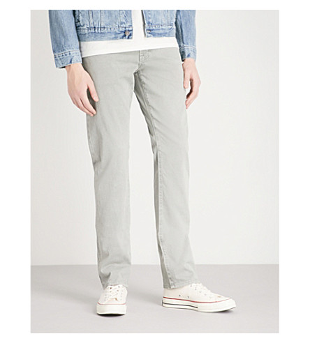 AG JEANS Graduate slim-fit tailored jeans (Sulfur+light+pavement