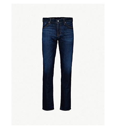 AG JEANS Tellis slim-fit stretch-denim jeans (Blue+agt