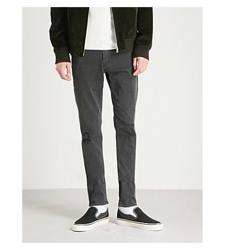 AG JEANS Stockton slim-fit skinny jeans (3+year+black+ash
