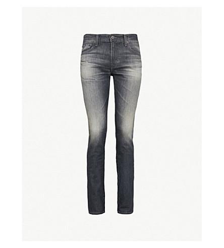 AG 牛仔裤斯托克顿修身版型紧身牛仔裤 (13 + 年 + 竖琴