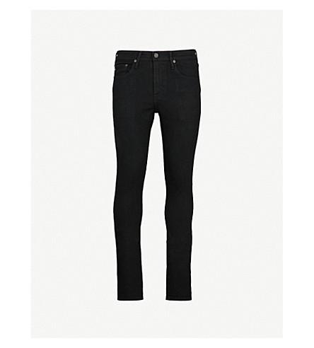 AG JEANS Stockton slim-fit skinny jeans (Black