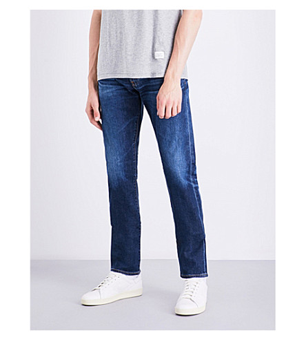 AG JEANS Tellis slim-fit tapered jeans (Blue