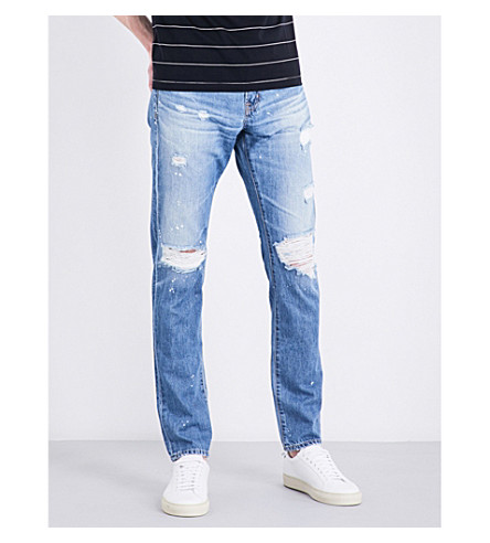 AG JEANS Tellis slim-fit tapered jeans (22ymel
