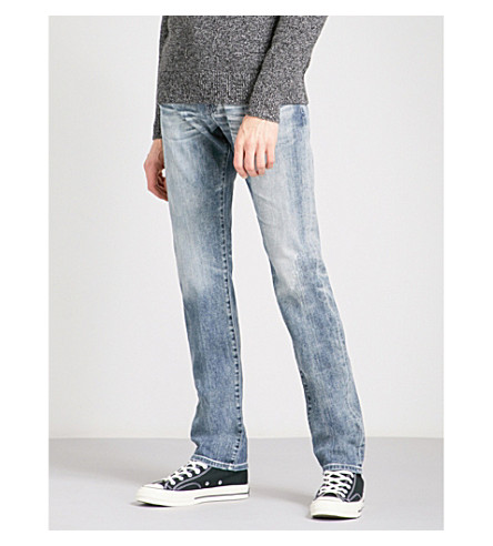 AG JEANS Tellis slim-fit straight jeans (16yr+blue