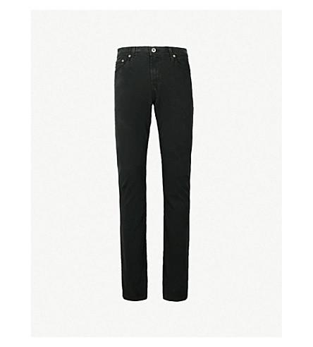 AG JEANS Everett slim-fit straight jeans (Oak+grove