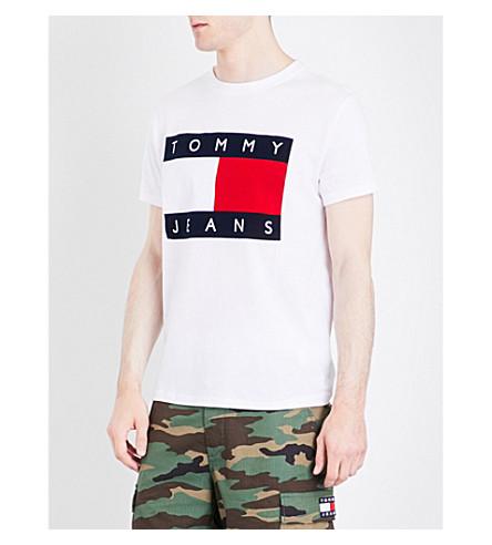 tommy jeans 90s cotton t shirt. Black Bedroom Furniture Sets. Home Design Ideas