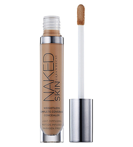 URBAN DECAY Naked skin complete coverage concealer (Dark+golden