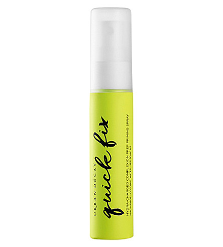 URBAN DECAY Quick Fix Hydra-Charged Complexion Prep priming spray travel size