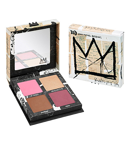 URBAN DECAY Jean-Michel Basquiat blush palette (Gallery