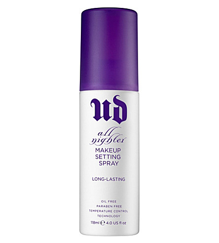 URBAN DECAY All Nighter long-lasting make-up setting spray 118ml