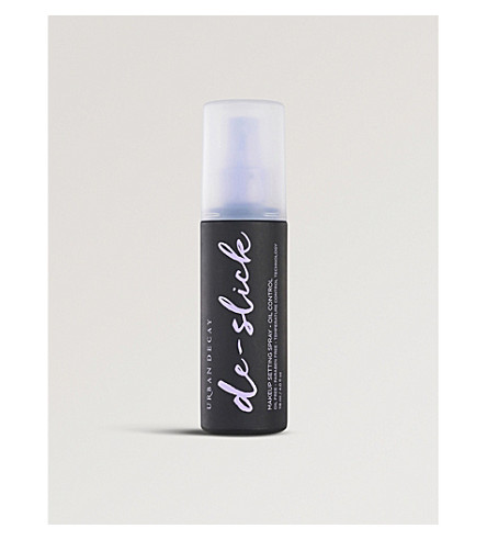 URBAN DECAY De-slick oil control make-up setting spray 118ml