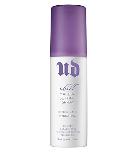 URBAN DECAY Chill make-up setting spray 118ml