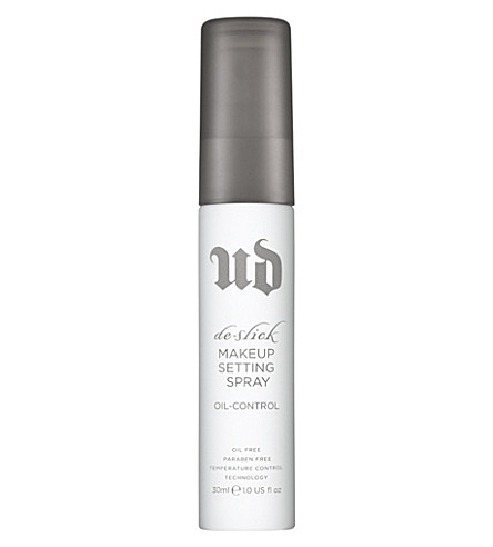 URBAN DECAY De-slick oil control make-up setting spray 30ml