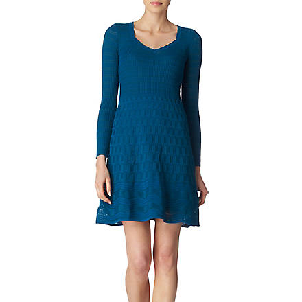 M MISSONI Knitted dress (Teal