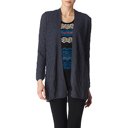 M MISSONI Knitted cardigan (Teal