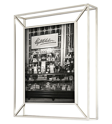 UMBRA Matrix nickel photo frame 8