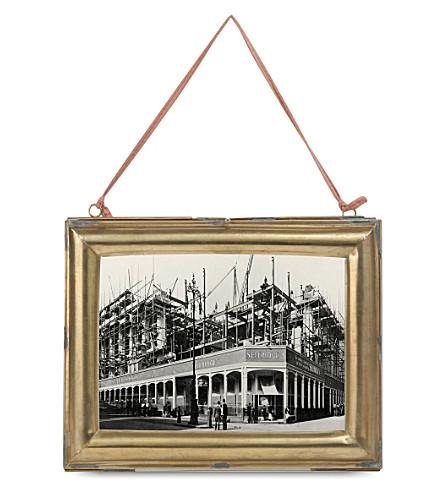 NKUKU Kariba antique brass frame