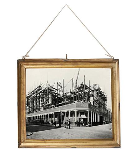 NKUKU Kariba brass picture frame