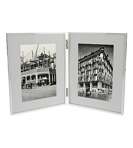 BRIGHT IDEAS Double photo frame 4 x 6