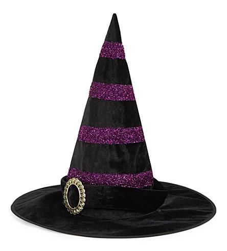 PREMIER Glitter stripe witch's hat
