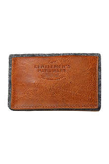 WILD & WOLF Gentlemen's Hardware leather card holder