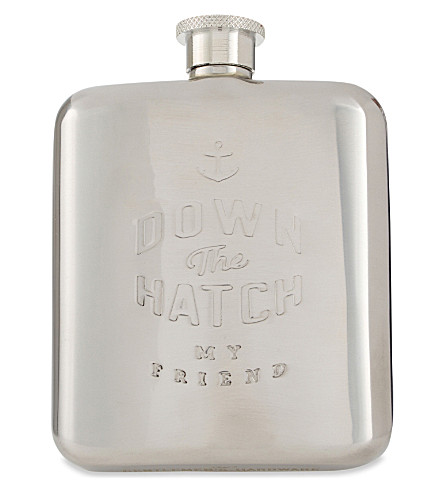 WILD & WOLF Hip flask 6oz