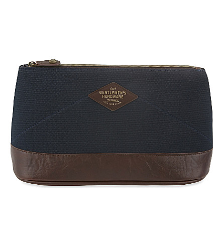 WILD & WOLF Original denim wash bag