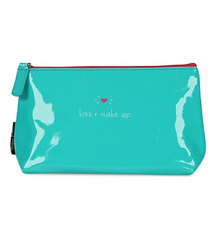 HAPPY JACKSON 'Kiss + make up' make up bag