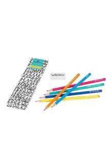 HAPPY JACKSON Cheerful pencils set of six