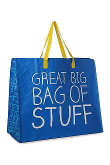 HAPPY JACKSON Great Big Bag Of Stuff carrier bag
