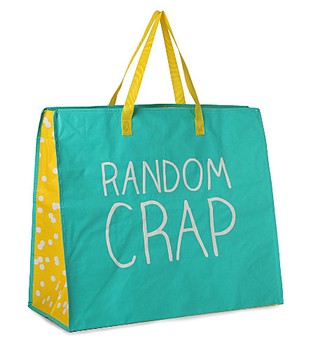 HAPPY JACKSON Random Crap carrier bag