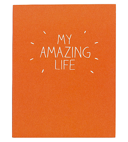 HAPPY JACKSON My amazing life notebook
