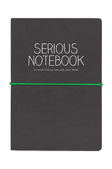 WILD & WOLF Serious A5 notebook