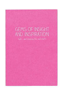 WILD & WOLF Little gems of insight notebook